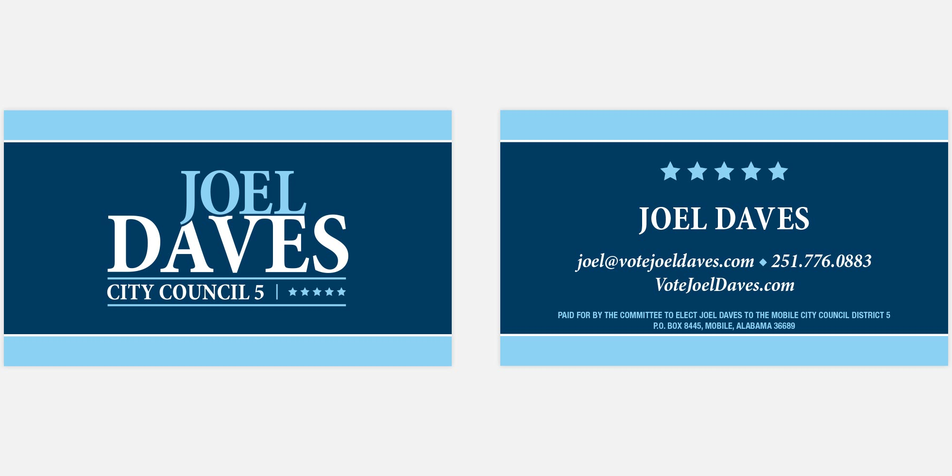 Joel Daves - Business card